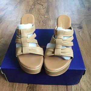 Athena Alexander platform sandals by calista.